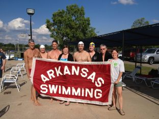 2013? June. Summer Long course meet in Bentonville, Melvin Ford Aquatic Center