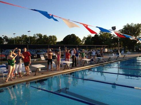 2012, June. Bentonville Masters Meet, Melvin Ford Aquatic Center