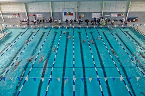 2012? One Hours Swim, Bentonville, Walton Life Fitness Center