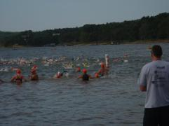 2012, Memorial Day. Ozark Open Water, Beaver Lake