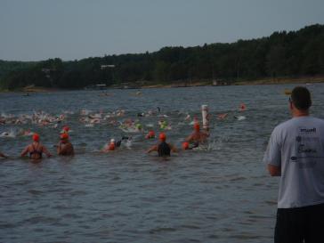 2012, Memorial Day. Ozark Open Water, Beaver Lake