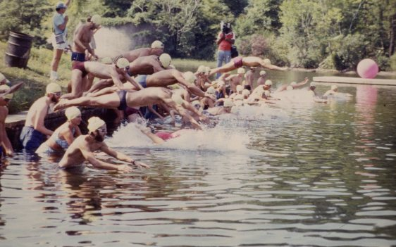 3rd Annual Duracraft One Mile Lake Swim - Lake Norrell, 25 Aug 1984
