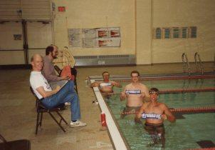 10,000 meter swim - Marquis De Sade Swim Meet - Too Funny!