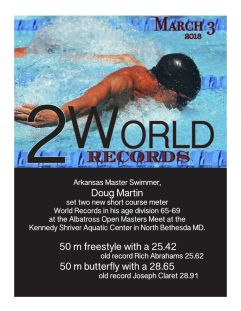 Doug Martin World Records