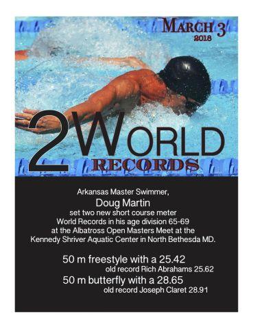 Doug Martin World Records