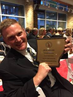 2018, Jim Sellers induction into the Arkansas Swimming Hall of Fame in Little Rock.