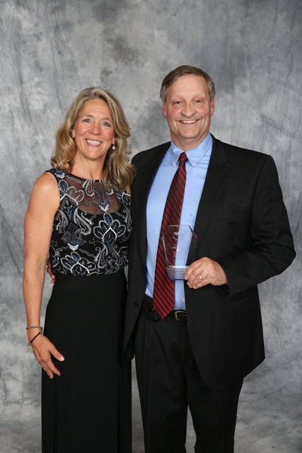 Scott and Anita 2019 HOF Banquet